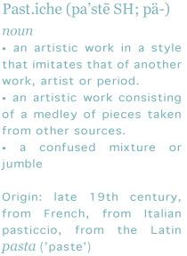 pastiche-definition